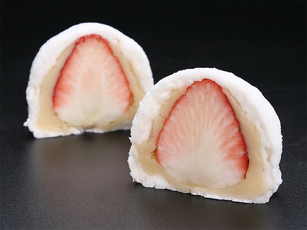 かむろ 和菓子 いちご大福