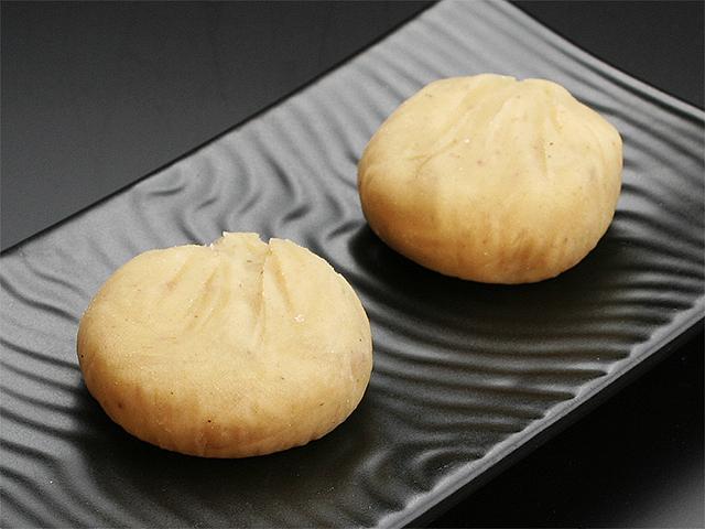 箕面市 かむろ 和菓子 秋の風物 栗和菓子「栗きんとん」