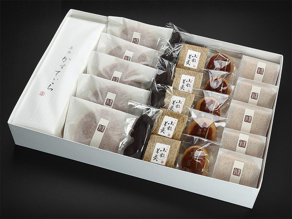 和菓子,かむろ,大阪,箕面,みのお,どら焼き,もなか,最中,栗まんじゅう,かりんとう,カステラ,羊羹,進物,ギフト,